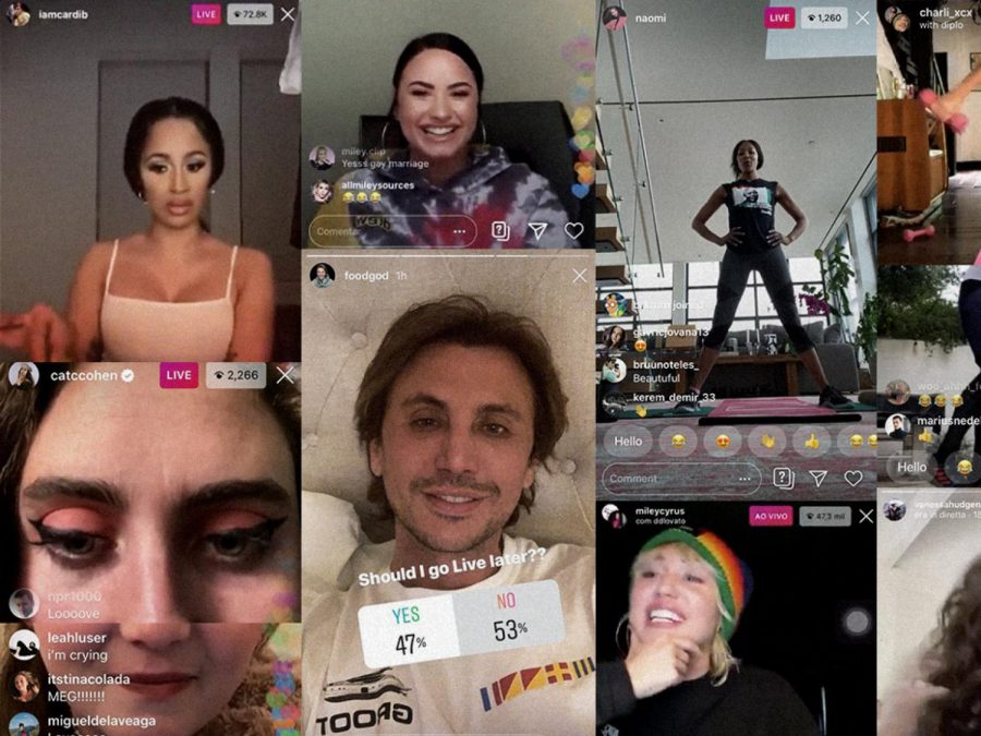 You will never get bored during quarantine with  dozens of celebrity live streams to watch.