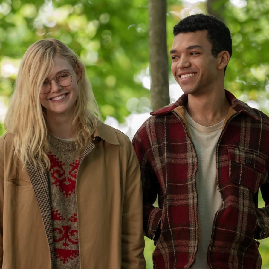 Elle+Fanning+and+Justice+Smith+in+%E2%80%9CAll+the+Bright+Places.%E2%80%9D