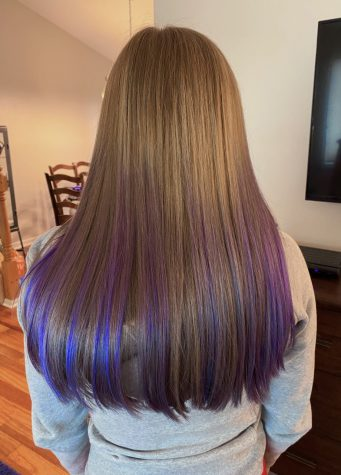 """Since quarantine has started, Pinterest has reported that searches for """"home haircut"""" are up by 417% and """"how to strip hair color naturally"""" by 15%."""
