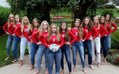 This was 2019 LHS varisty volleyball team. Taken pre-season by Jordan LeMaster.