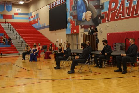 The LHS Homecoming Coronation continued this year, implementing social distancing and mask guidelines.