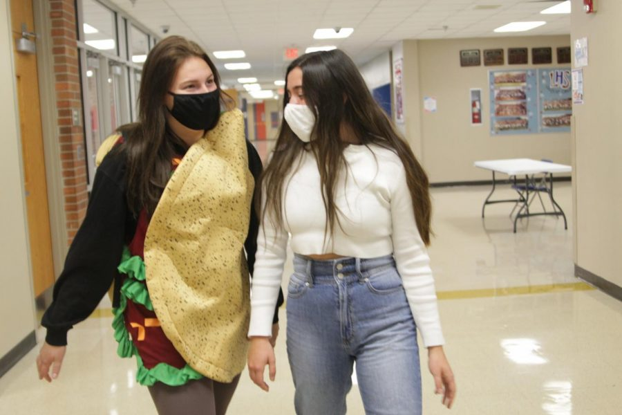 LHS seniors are proud to wear whatever they feel makes them the most confident.