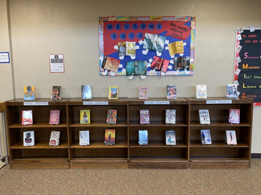 LHS library seeks out diversity with this years featured section