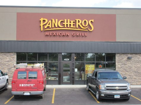 Pictured here is the first Pancheros location that opened in Sioux Falls on S Louise Ave.