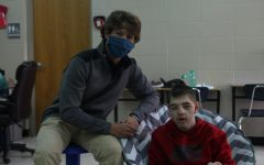 Ty Schaefer and Caleb Robinson are often spending time together in the RISE room.