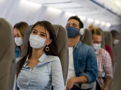 There have definitely been cases of infected passengers passing the virus on to a flight's crew or travelers in recent months, however, the transmission rates are low.