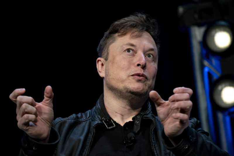 Elon Musk is also the CEO of SpaceX, The Boring Company and Tesla.