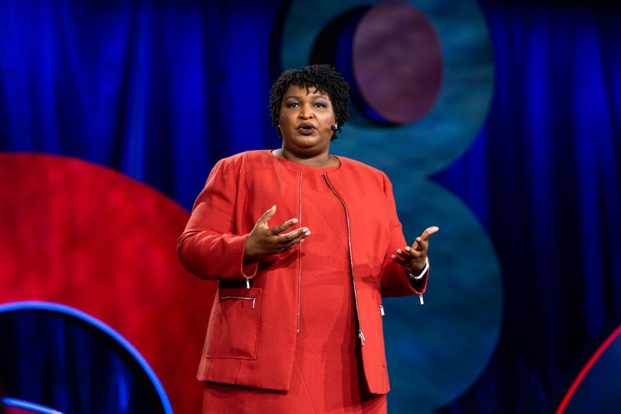 Stacey Abrams is a very influential woman in today's world.