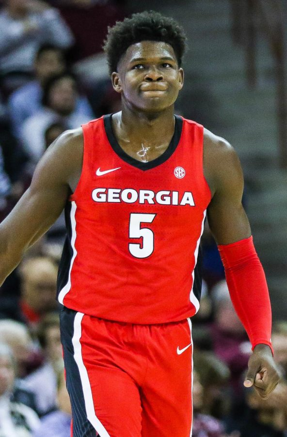 #1 Overall pick Anthony Edwards gets selected to the Minnesota Timberwolves.