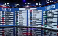 The NBA draft was hosted virtually this year via ESPN.
