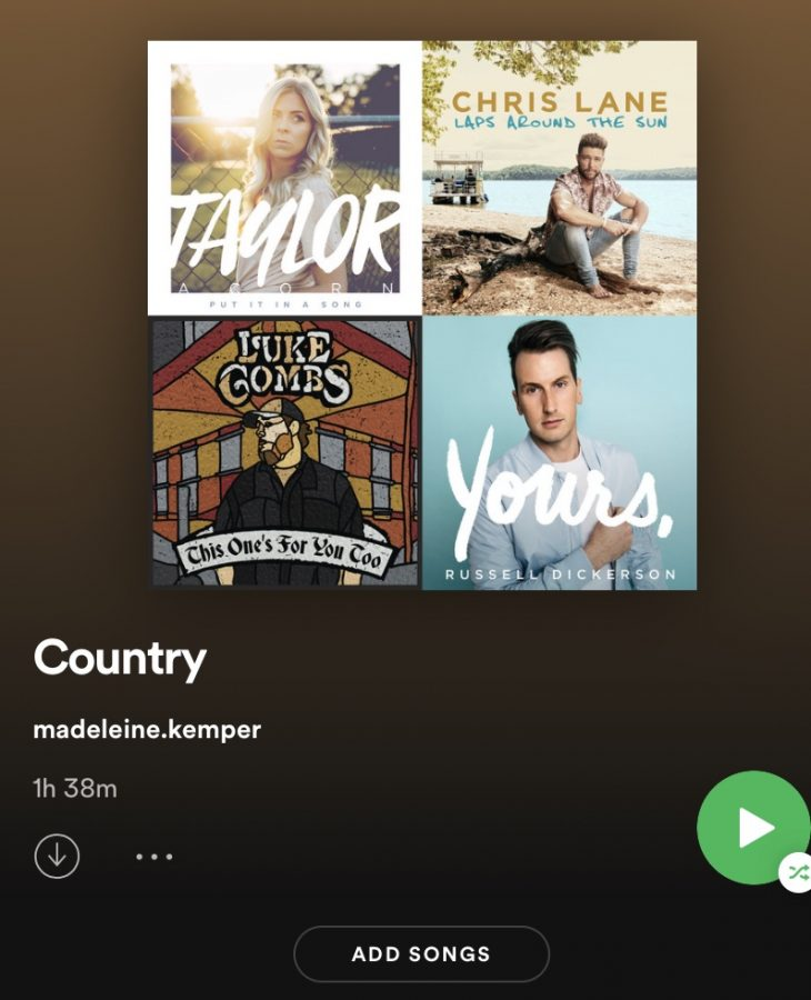 Over the last couple of years, I have been compiling a playlist of my favorite Country songs, ready to be played whenever the moment strikes.