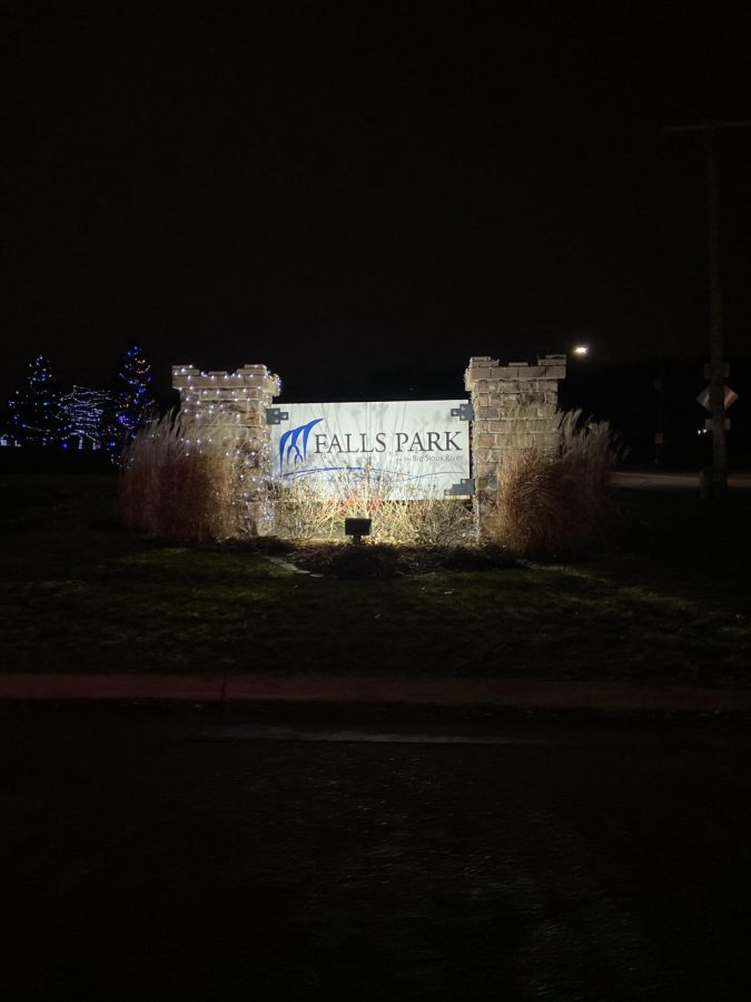 Every year Falls Park turns into a Winter Wonderland during the holiday season.
