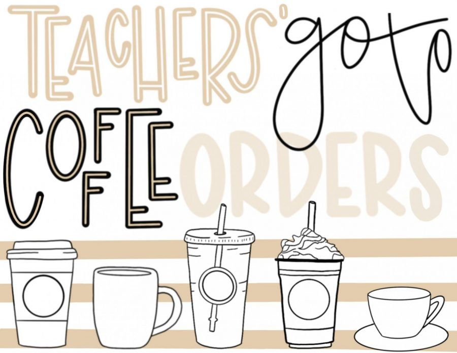 Coffee+shops+around+the+city+of+Sioux+Falls+offer+an+array+of+options%2C+and+teacher+teachers+of+LHS+have+their+go-to+coffee+orders.+