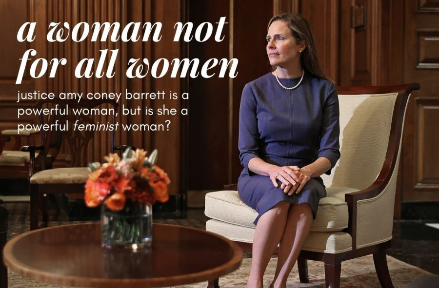 Newly+appointed+Supreme+Court+Justice+Amy+Coney+Barrett+is+a+powerful+woman%2C+but+is+she+a+powerful+feminist+woman%3F