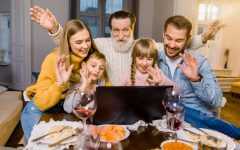 The CDC recommends that families gather virtually this Thanksgiving to lower the risk of spreading COVID-19.