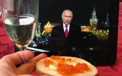 In Russia, New Year's is an occasion where wishes might be granted, as per the tradition of watching the New Year Address by the President of Russia.