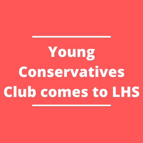 If you are interested in attending, Young Conservatives Club meets after school until 4 p.m. every Thursday in Mr. Jones' room, A403.