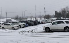 The LHS parking lot may look orderly, but before and after school, it is the worst place you want to be trapped.