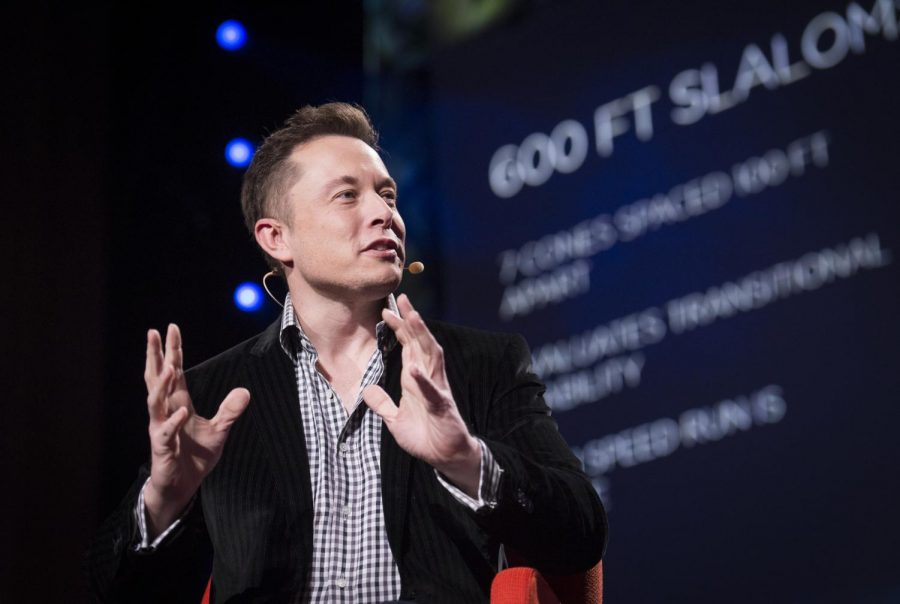 Elon Musk, the single wealthiest person in the world as of January 7