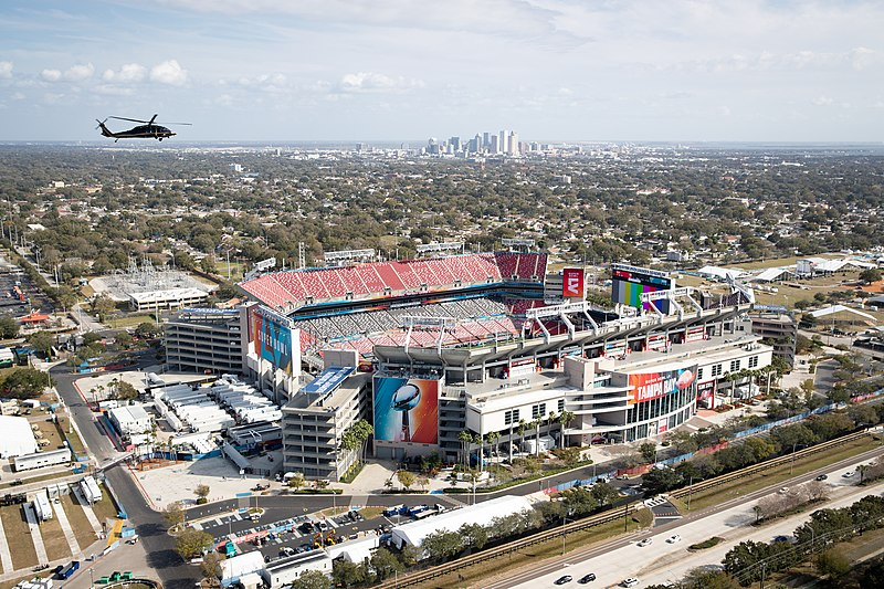 Super Bowl LV will be played on Feb. 7 at the Raymond James Stadium.