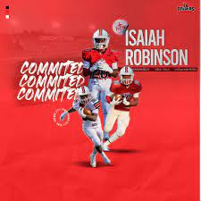Isaiah Robinson commits to Northwestern College in Orange City, Iowa to further his athletic career.