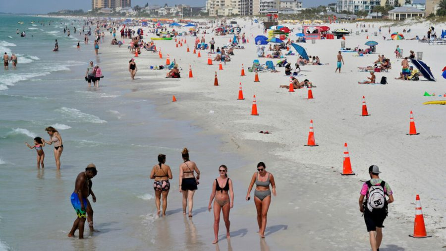 According to Statista, 52 percent of Americans are less likely to be going on a Spring Break vacation this season.