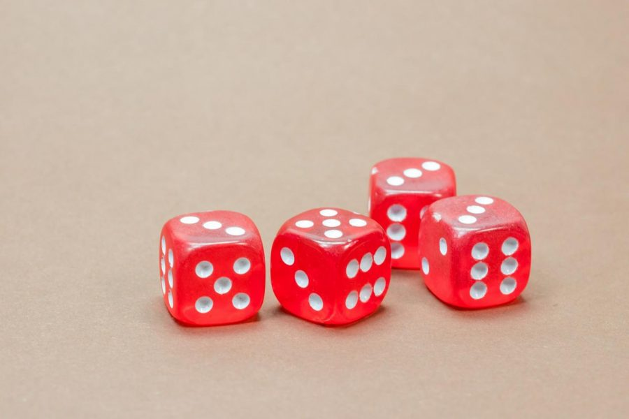 Buying stocks is a dice roll because of the constant change in stock values.