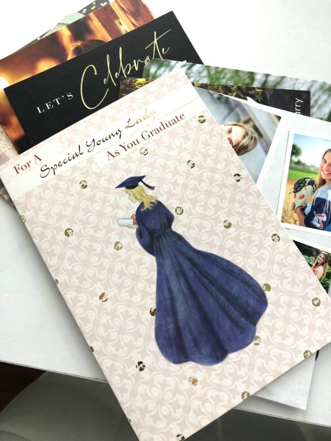 Enter grad party dates on a calendar right away to reduce the accumulating pile.