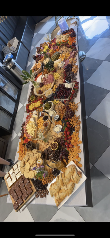 An example of an incredibly beautiful spread at Sara Croghan´s graduation party.