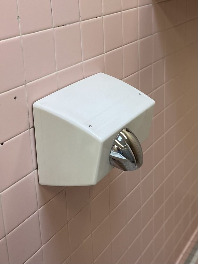 One of the most popular requests is that the hand dryers in the girls' bathrooms get updated.