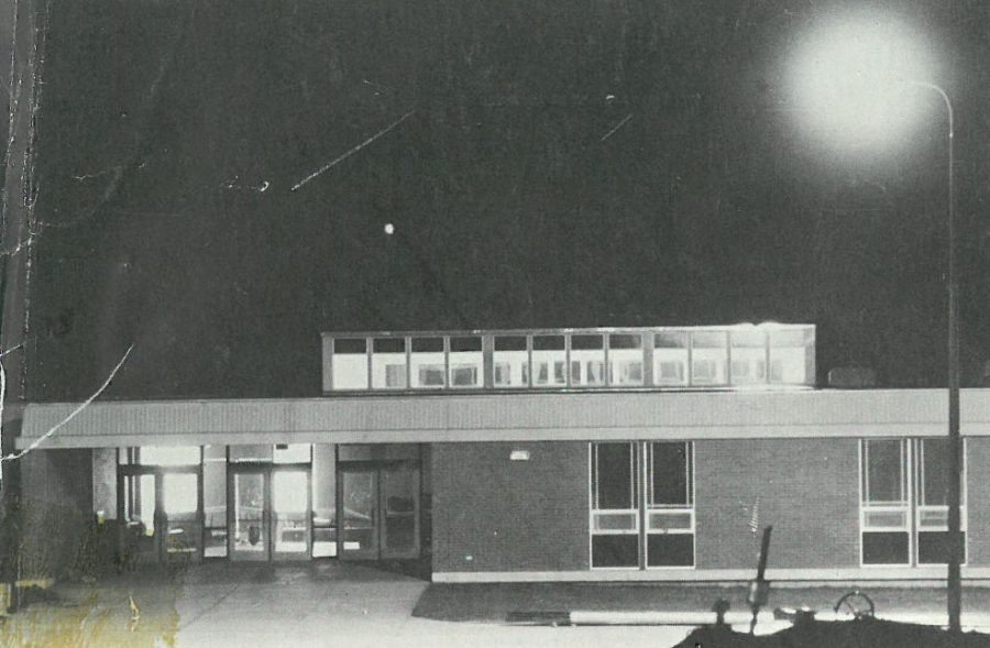 One of the first few pictures of LHS taken once it was finished being built.