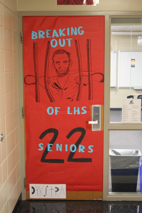 LHS ad room door wars is a fun tradition every homecoming.
